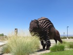 IAIA Sculpture 1, Bison