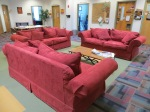 IAIA. The couches in the student Learning center beckon students to places where the can get help. ...it's a devious kindness that lies in wait here.
