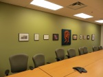 IAIA, Conference Room and Student Art 2