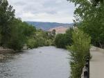 A river passes through Reno. It's quite beautiful.