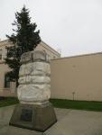 Statue dedicated to William Henry Seward (I think it looks just like him!)