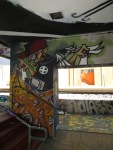 Aerosol Art in and on the wall (W21)