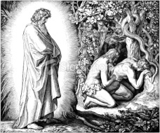 Adam and Eve Hide from God