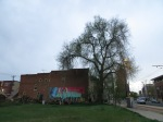 Tree and a Mural