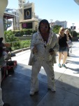 This Elvis made a point to find out where I was from.