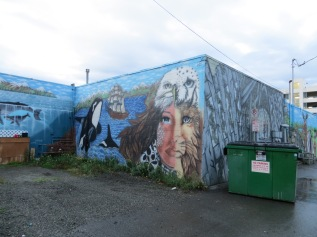 The Shape Shifter is still my favorite mural in Anchorage ...Ziggy did this in collaboration with one or two others.