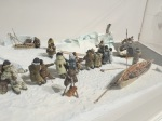 Yes, they still do this. Add a few modern tools to the diorama, and this could be a Spring hunt today.