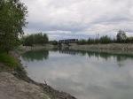 Ship Creek has plenty of bridges.