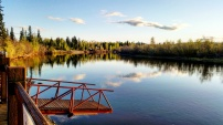 Chena River from Pike's Landing (Fairbanks)
