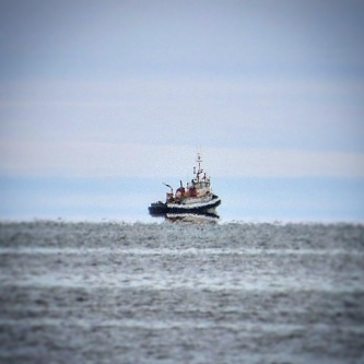 Is that ship levitating? (Barrow)