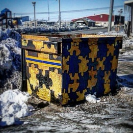 Jigsaw Dumpster (Barrow)