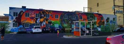 Concentric Ecothemed Mural