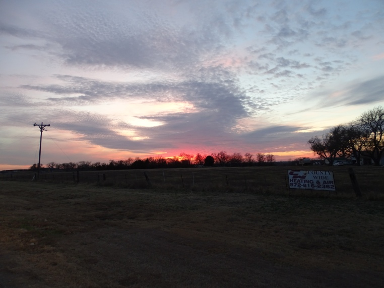 Random Texas Sunset