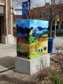 Utility Box at a DIstance