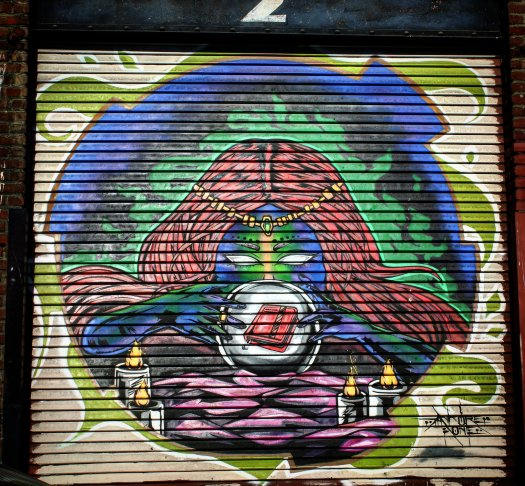 Mystical Garage Door