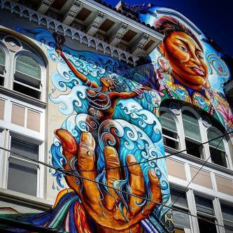 Women's Building in the Mission District in San Francisco