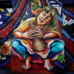 Crouching Lady