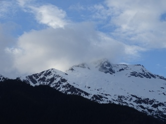 Mountains Overlooking Mendenhall Lake