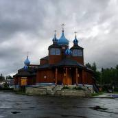 St. Innocent, Russian Orthodox Church in Anchorage (Moni really wanted to see this one)